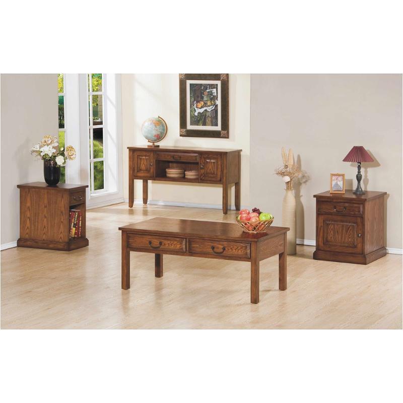 Bon Az101e Winners Only Furniture Zahara   Medium Oak Chair Side Table   Medium  Oak