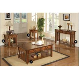 Attirant Azh100c Winners Only Furniture Zahara   Mission Oak Living Room Cocktail  Table