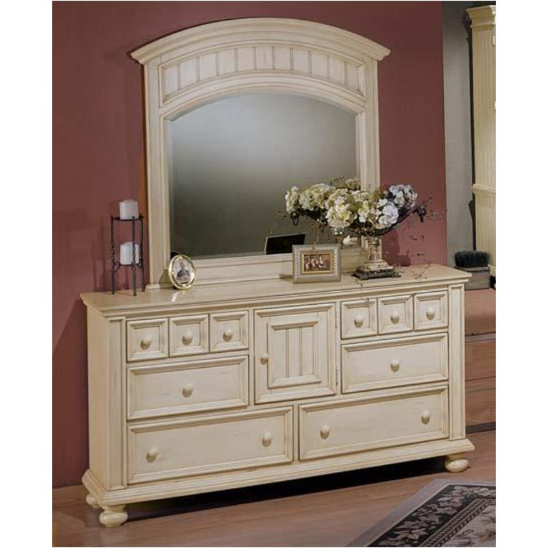 Bb1006 Winners Only Furniture Cape Cod   Buttermilk 64in Dresser    Buttermilk