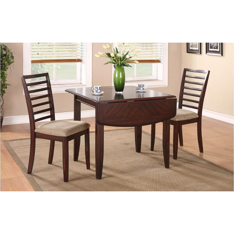 Db13650c Winners Only Furniture Brownstone Dinette Table