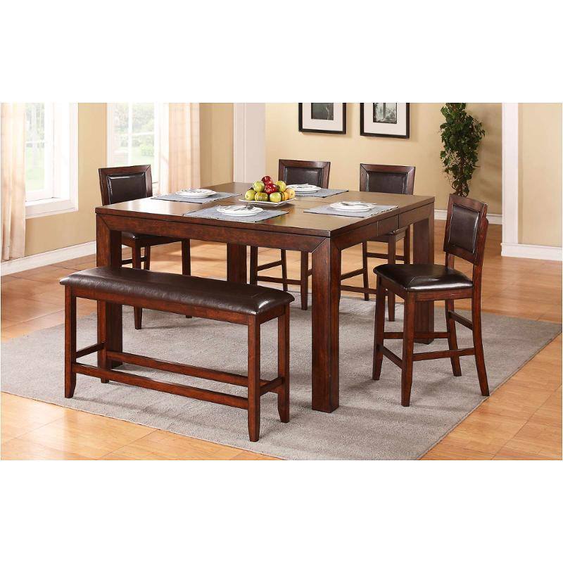 dfmt16060 winners only furniture fallbrook 60in tall leg table with 12in butterfly leaf
