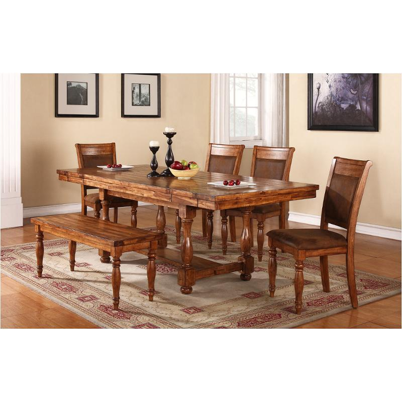 Dg24092 T Winners Only Furniture Grand Estate Dining Room Dinette Table