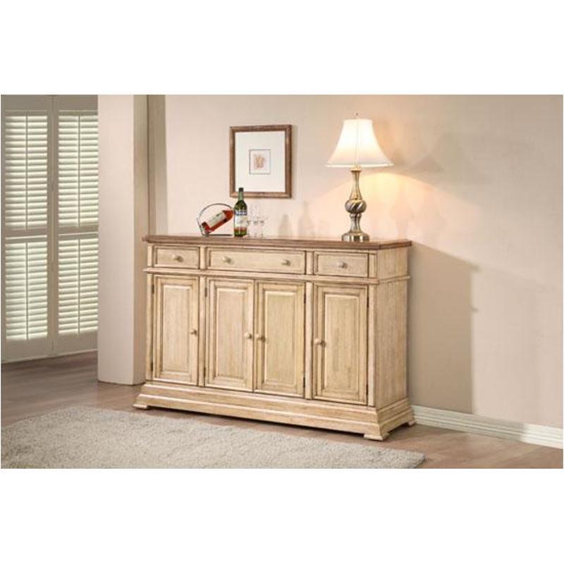 dq1470bw winners only furniture quails run wheatalmond 58in side board almondwhite