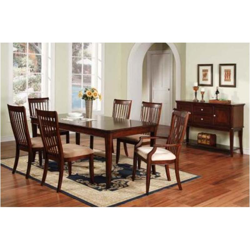 Dtc2450s Winners Only Furniture Topaz Cherry Dining Room Chair