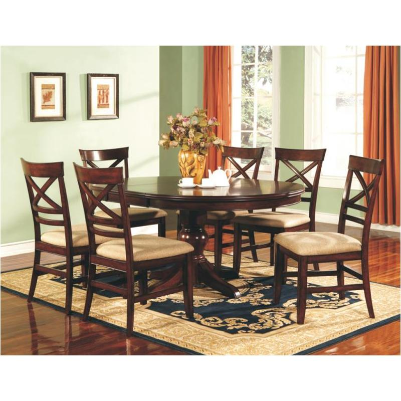 Dtc24866 Winners Only Furniture Topaz Cherry Dining Room Dinette Table
