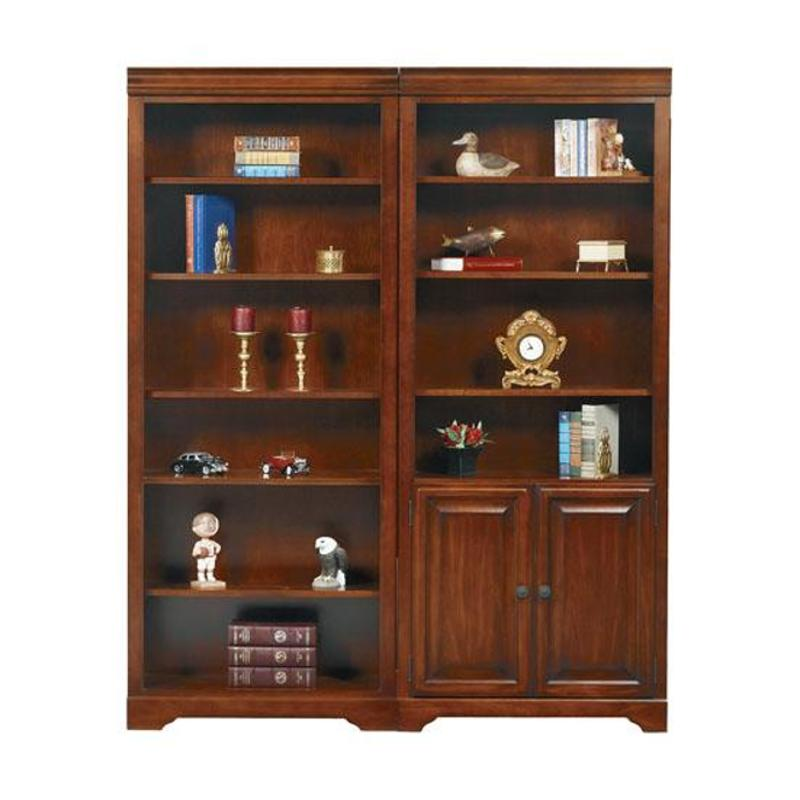 Km132bdr Winners Only Furniture 32in Bookcase With Doors