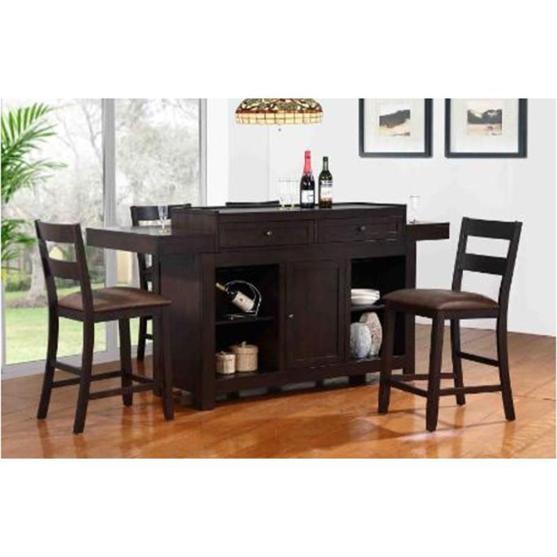 1480 00 Ibt E C I Furniture Island Accent Hibatchi Dining Bar