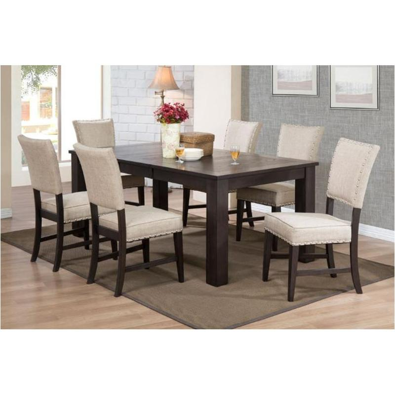 3073 50 T E. C. I. Furniture Parsons Dining Room Dining Table