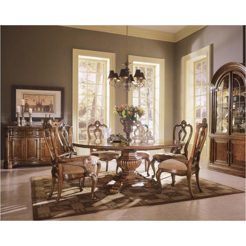 409657-tab Universal Furniture Villa Cortina Round Dining