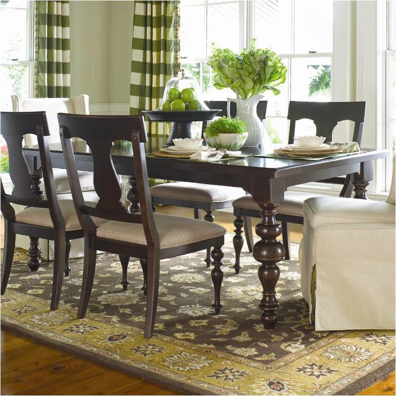 Etonnant 932653 Universal Furniture Paula Deen Home   Tobacco Dining Room Dining  Table