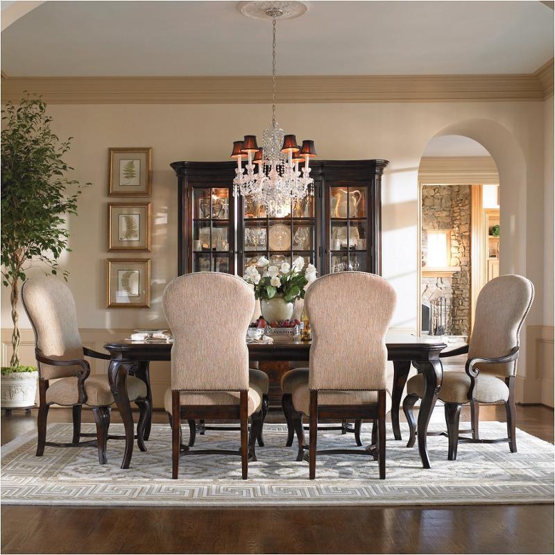 901653 universal furniture contessa rectangular leg table