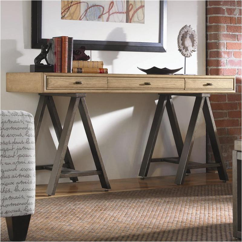 929803 Top Universal Furniture Forecast Woodstone Console Desk