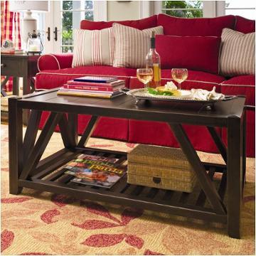 932819 universal furniture coffee table tobacco - Paula deen tobacco bedroom furniture ...