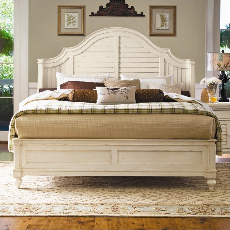 996210 Universal Furniture Paula Deen Home   Linen Bedroom Bed