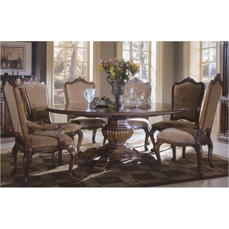 409657 Tab C Universal Furniture Villa Cortina Round Pedestal Table