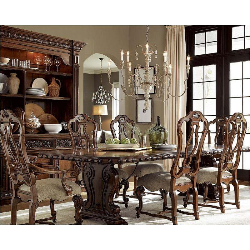 245655-tab Universal Furniture Escalera Valencia Dining Table