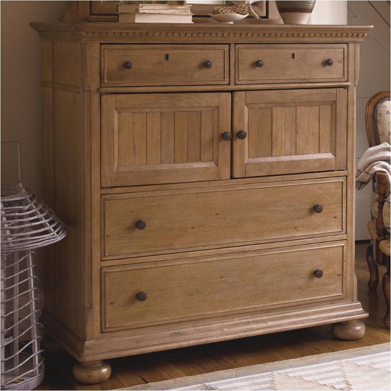 192175 Universal Furniture Paula Deen Down Home Oatmeal Bedroom Dresser