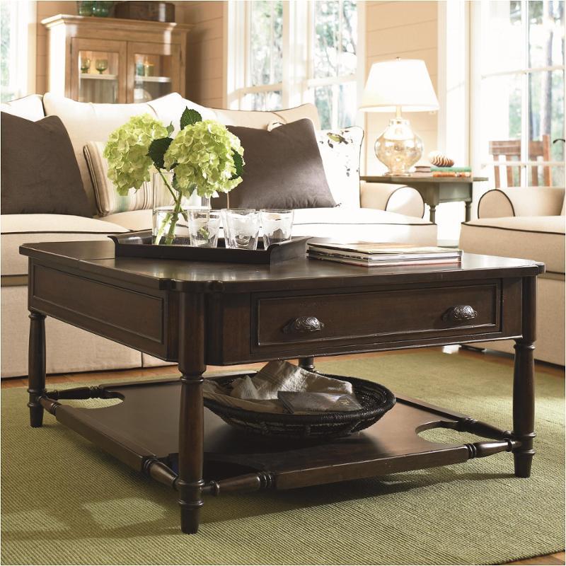 193801 Universal Furniture Paula Deen Down Home Moles Living Room Tail Table