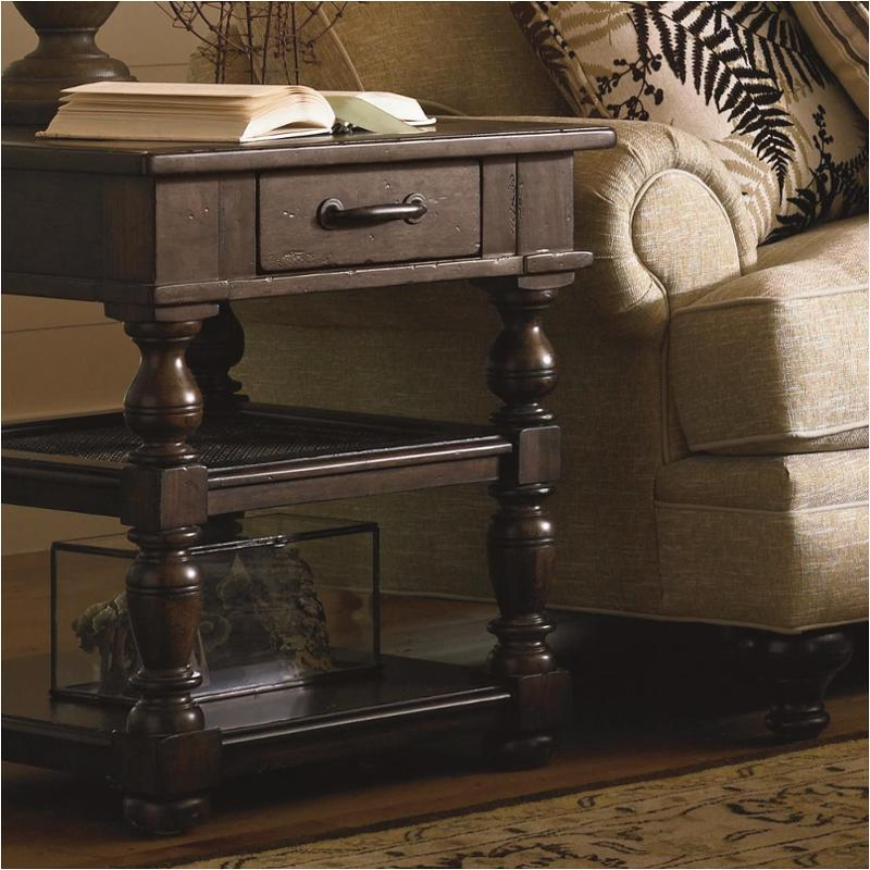 Exceptionnel 193807 Universal Furniture Paula Deen Down Home   Molasses Drawer End Table    Molasses