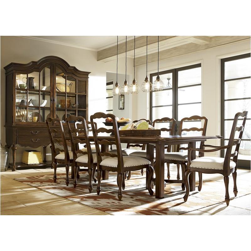 313655-tab Universal Furniture Cordevalle Dining Table