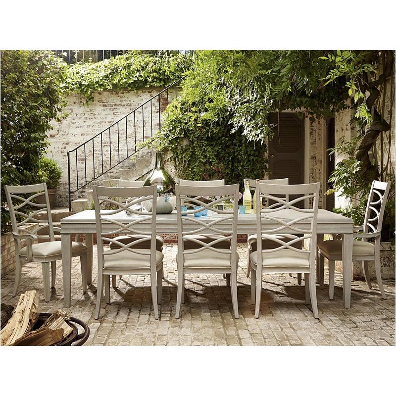 476653 Universal Furniture California   Malibu Dining Room Dining Table