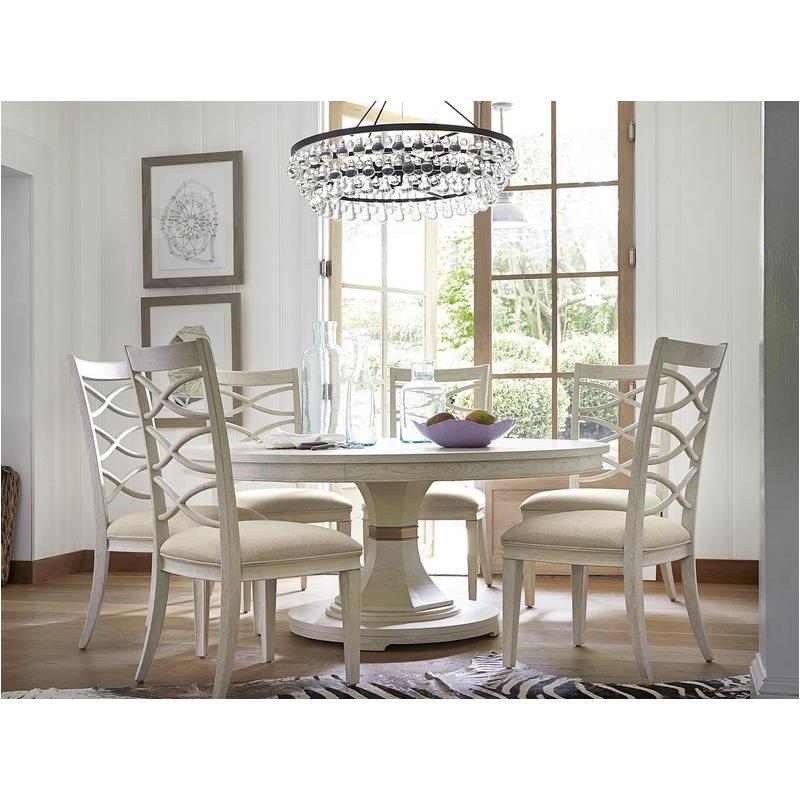 476657-tab Universal Furniture Round Pedestal Table