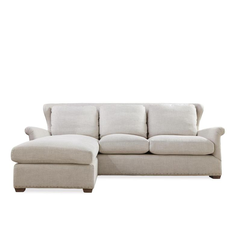 477502-100 Universal Furniture Haven Sofa Chaise With Ottoman