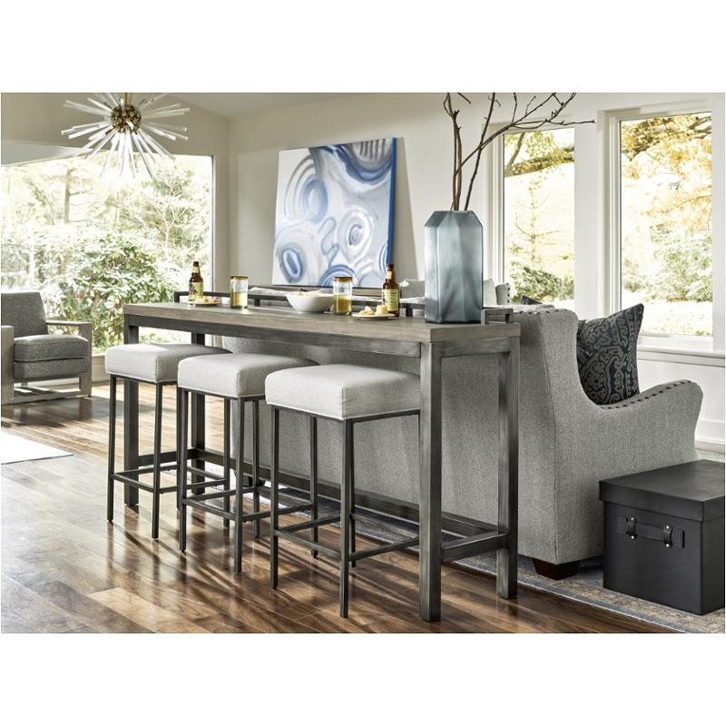 749803 Universal Furniture Mitchell Console Table With Stools