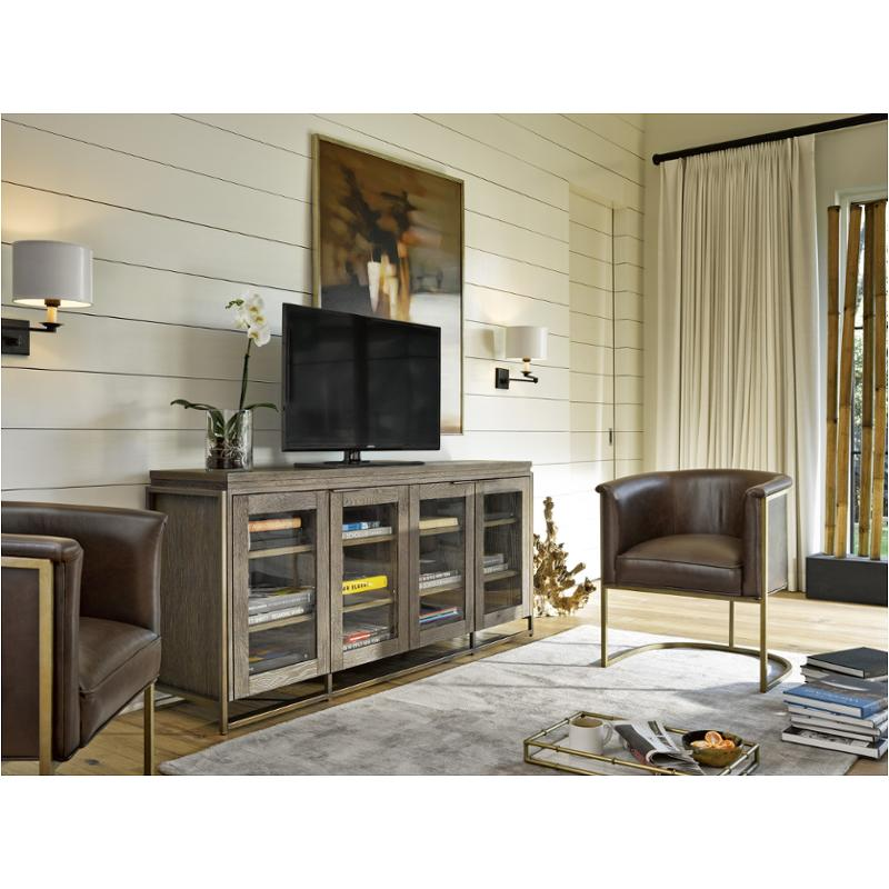 642968 Universal Furniture Modern   Charcoal Living Room Tv Console